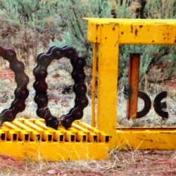 Sign as you leave Christ of the Desert Monestary