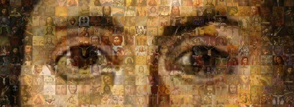 Jesus Mosaic from the film The God Who Wasn't There