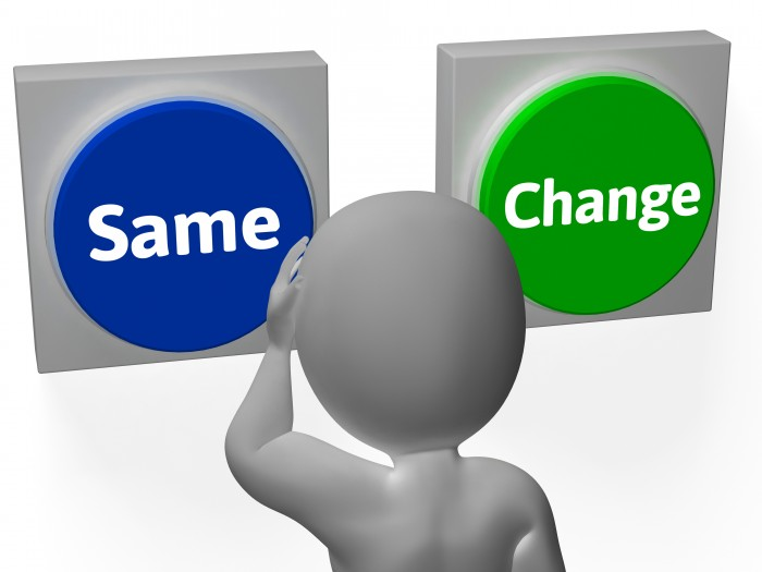 Same Change Buttons Show Innovating Or Changing