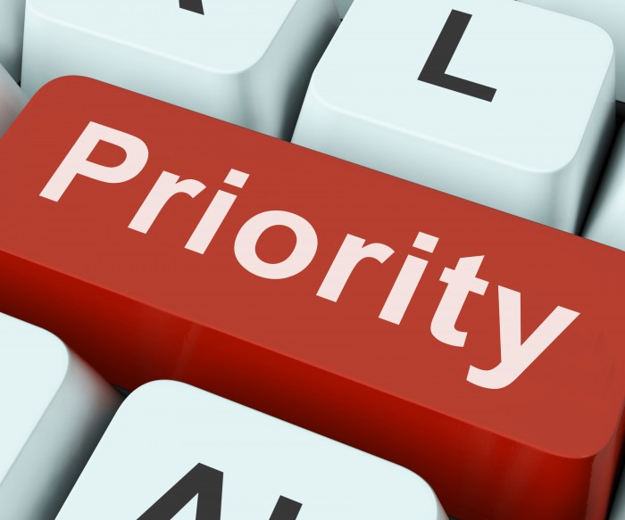 Priority Key On Keyboard Meaning Preference Greater Importance Or Primacy